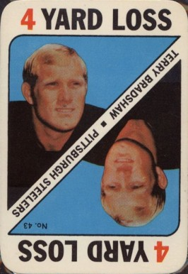 1971 Topps Game Cards Terry Bradshaw #43 Football Card