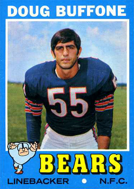 1971 Topps Doug Buffone #126 Football Card