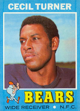 1971 Topps Cecil Turner #234 Football Card