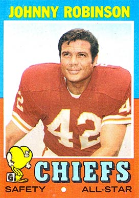 1971 Topps Johnny Robinson #88 Football Card