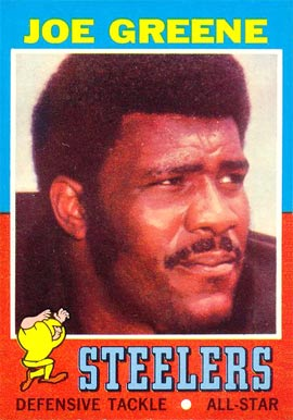 1971 Topps Joe Greene #245 Football Card