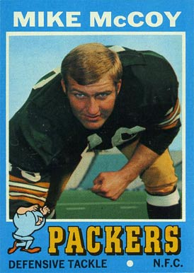 1971 Topps Mike McCoy #248 Football Card