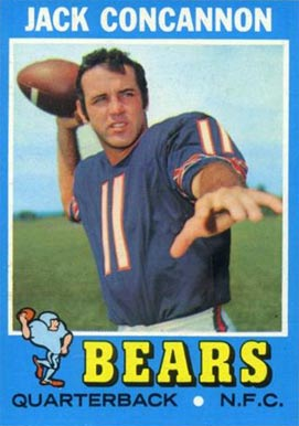 1971 Topps Jack Concannon #262 Football Card