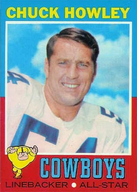1971 Topps Chuck Howley #238 Football Card