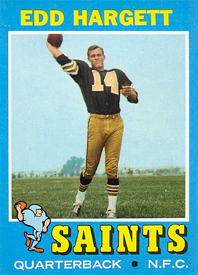 1971 Topps Edd Hargett #226 Football Card