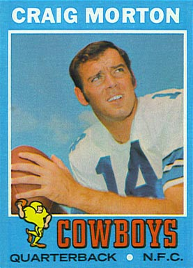 1971 Topps Craig Morton #171 Football Card
