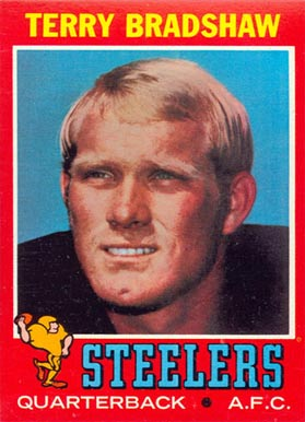1971 Topps Terry Bradshaw #156 Football Card