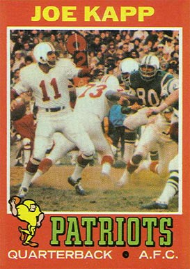 1971 Topps Joe Kapp #145 Football Card