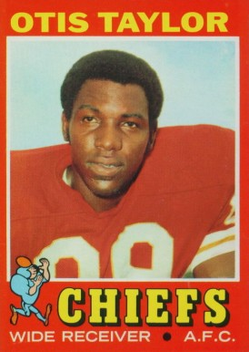 1971 Topps Otis Taylor #139 Football Card
