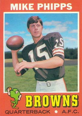 1971 Topps Mike Phipps #131 Football Card