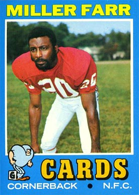 1971 Topps Miller Farr #69 Football Card