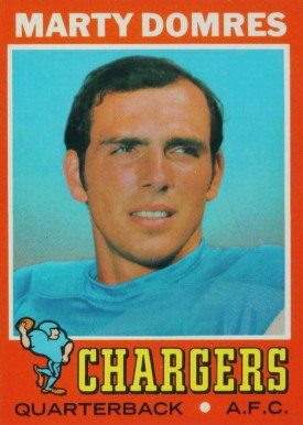 1971 Topps Marty Domres #66 Football Card