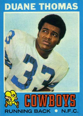 1971 Topps Duane Thomas #65 Football Card