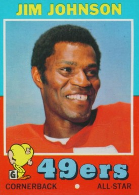 1971 Topps Jim Johnson #24 Football Card
