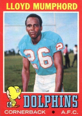 1971 Topps Lloyd Mumphord #17 Football Card