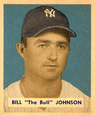 1949 Bowman Billy Johnson #129 Baseball Card