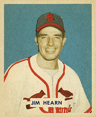 1949 Bowman Jim Hearn #190 Baseball Card