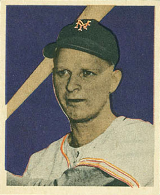 1949 Bowman Whitey Lockman #2 Baseball Card