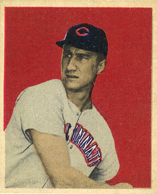 1949 Bowman Hank Sauer #5 Baseball Card
