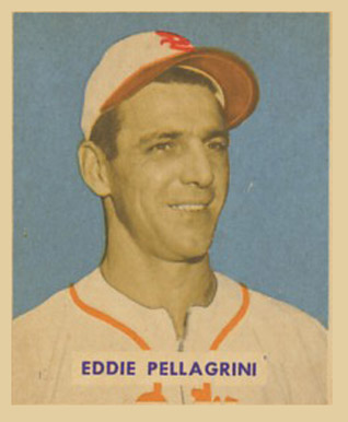 1949 Bowman Eddie Pellagrini #172 Baseball Card