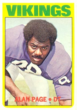 1972 Topps Alan Page #300 Football Card
