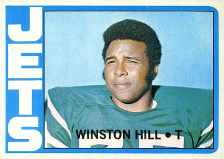 1972 Topps Winston Hill #295 Football Card