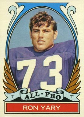 1972 Topps Ron Yary #265 Football Card
