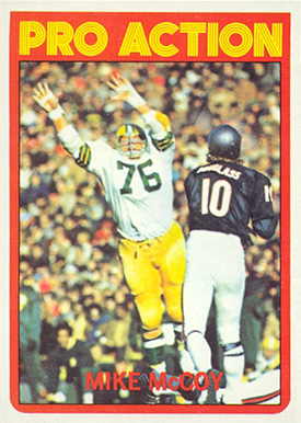 1972 Topps Mike McCoy #260 Football Card