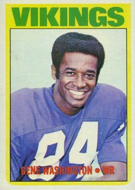 1972 Topps Gene Washington #218 Football Card