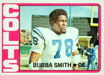 1972 Topps Bubba Smith #190 Football Card