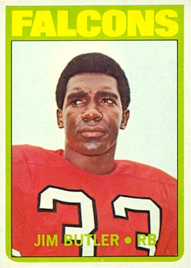 1972 Topps Jim Butler #171 Football Card