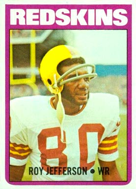 1972 Topps Roy Jefferson #142 Football Card