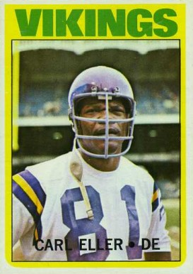 1972 Topps Carl Eller #20 Football Card