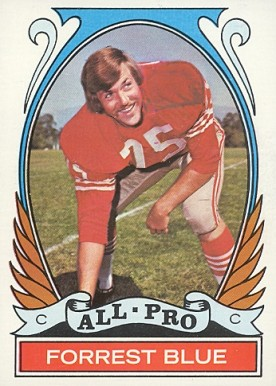 1972 Topps Forrest Blue #269 Football Card