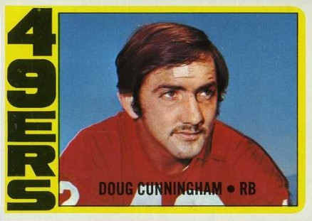 1972 Topps Doug Cunningham #311 Football Card