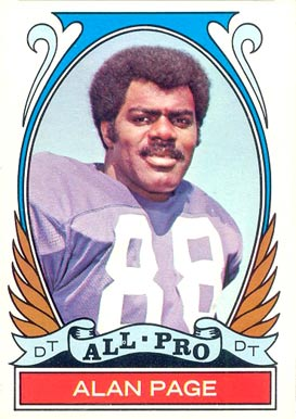 1972 Topps Alan Page #279 Football Card
