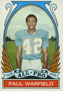 1972 Topps Paul Warfield #271 Football Card