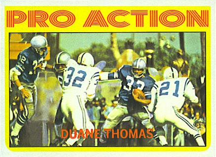 1972 Topps Duane Thomas #253 Football Card