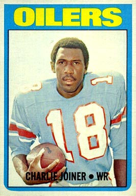 1972 Topps Charlie Joiner #244 Football Card
