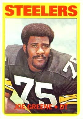 1972 Topps Joe Greene #230 Football Card