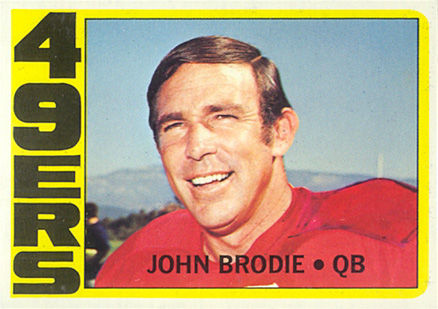 1972 Topps John Brodie #220 Football Card