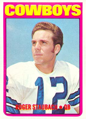 1972 Topps Roger Staubach #200 Football Card