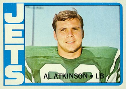 1972 Topps Al Atkinson #159 Football Card