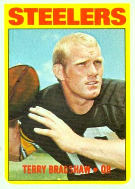 1972 Topps Terry Bradshaw #150 Football Card