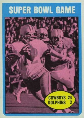 1972 Topps Super Bowl #139 Football Card