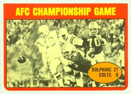 1972 Topps   #137 Football Card