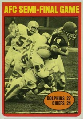 1972 Topps   #133 Football Card