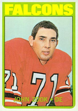 John Zook Football Cards