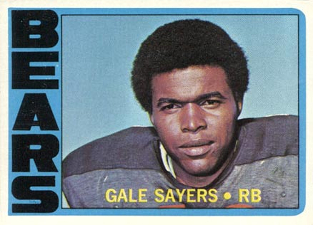 1972 Topps Gale Sayers #110 Football Card