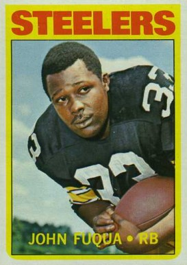 1972 Topps John Fuqua #77 Football Card